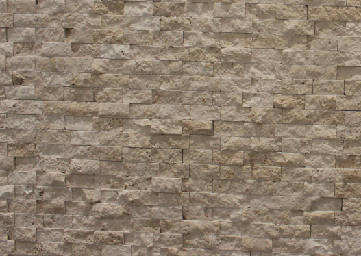 Split Face Classic Travertine 048 x 023 x 10 mm